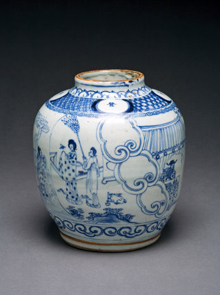 Baluster Jar, Ming Dynasty