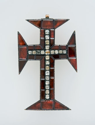 Garnet and Crystal Cross of the Order of Christ, Portuguese
