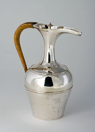 Silver Jug of Egyptian Design, by Joseph and Edward Bradbury