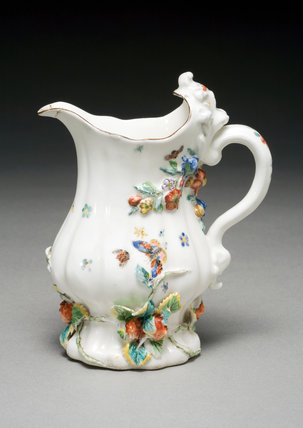 Milk Jug, by the Chelsea Porcelain Factory
