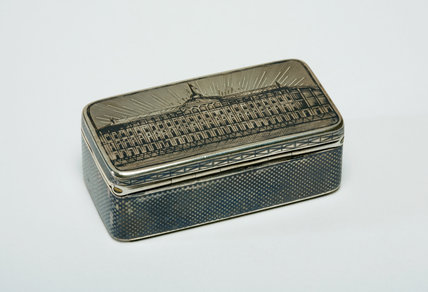 Silver Box, with a View of the Kremlin