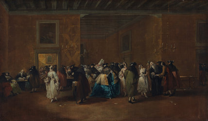 The Sala Grande of the Ridotto, by Guardi