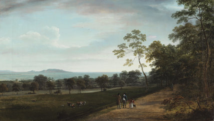 View in Mount Merrion Park, by William Ashford
