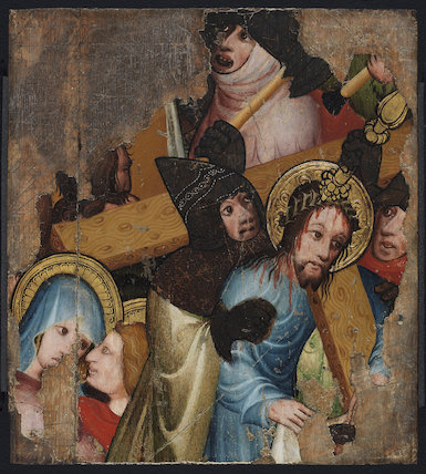 Christ bearing the Cross, English School