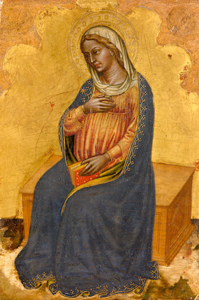 Virgin from The Annunciation, by Martino di Bartolomeo