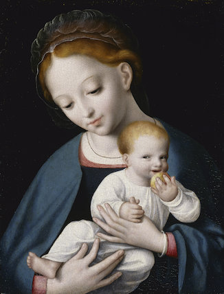 Virgin and Child, school of Cornelis van Cleve