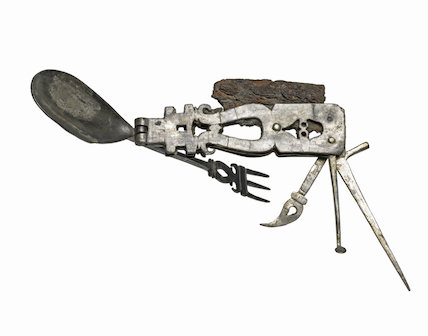 Roman 'Swiss Army Knife' tool and eating implement
