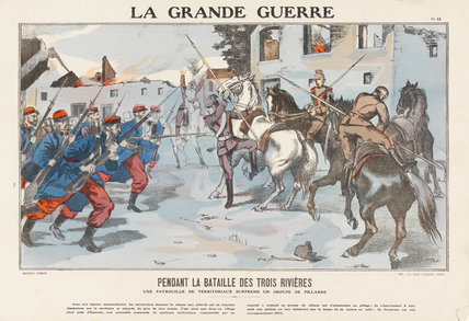 During the Battle of the Three Rivers, La Grande Guerre
