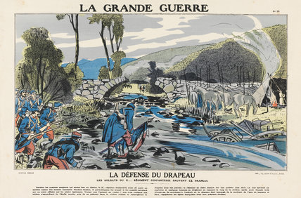 Defense of the flag, La Grande Guerre