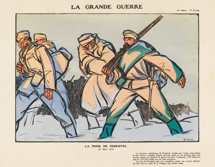 The capture of Przemysl, La Grande Guerre