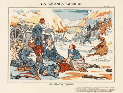 Turkish defeats, La Grande Guerre