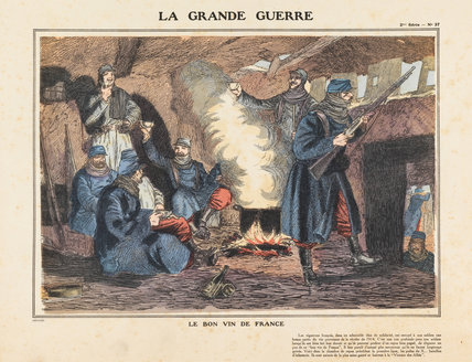 The good wine of France, La Grande Guerre