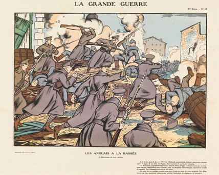 The English at La Bassee, La Grande Guerre