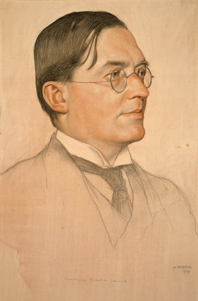 M.R. James, Provost of Eton by William Strang
