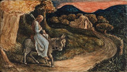 The Return Home, by Edward Calvert