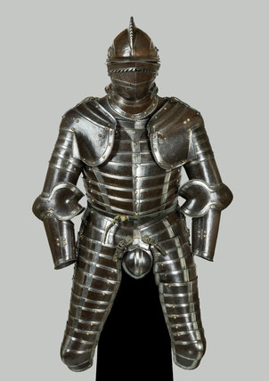 German composite armour with codpiece
