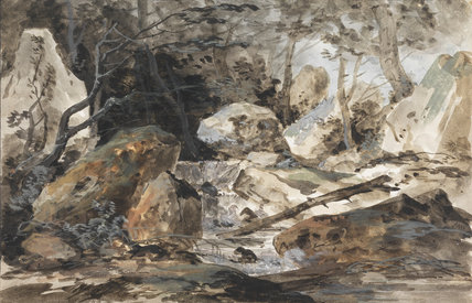'Le Torrent', by Louis Gabriel Moreau