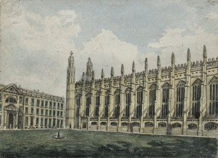 King's College, by W. Mason