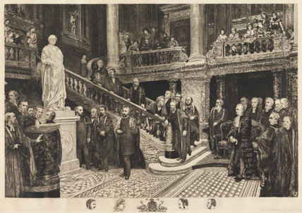 Unveiling of the statue of the Prince Consort, by Robert Farren