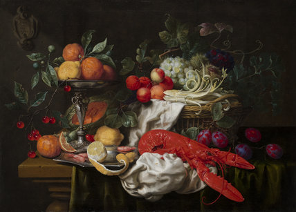 Still-life with a lobster