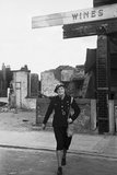 Mrs Edith Digby, an Air Raid Warden on duty in Bermondsey, London during the Second World War.