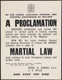 A Proclamation: Martial Law