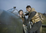 A few words from a fellow pilot before the engine-start of Supermarine Spitfire Mark IX,