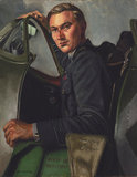 'Squadron Leader J A Leathart, DSO, No 54 Squadron'