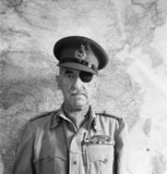 Lieutenant-General Adrian Carton de Wiart VC, Winston Churchill's personal military representative to General Chiang Kai-shek in Chungking, China, 1944