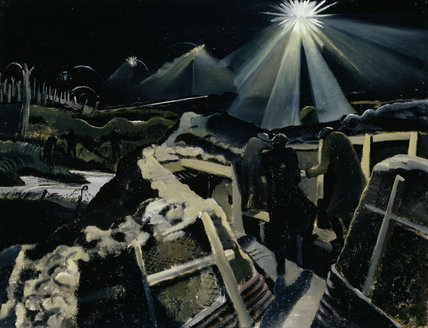 The Ypres Salient at Night