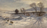 'When snow the pasture sheets'