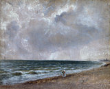 Seascape Study: Brighton Beach looking west