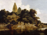 Hindoo Temples at Bindrabund, East Indies