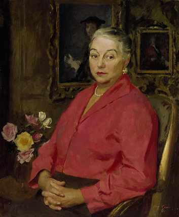 Portrait of Mrs Henry Carr
