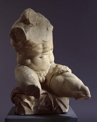 Belvedere Torso By Apollonius At Royal Academy Prints