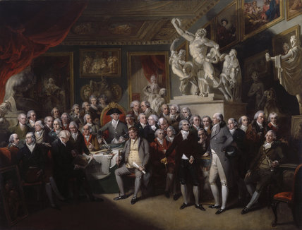 The Royal Academicians in General Assembly