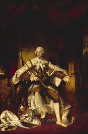 Portrait Of King George Iii By Sir Joshua Reynolds P R A