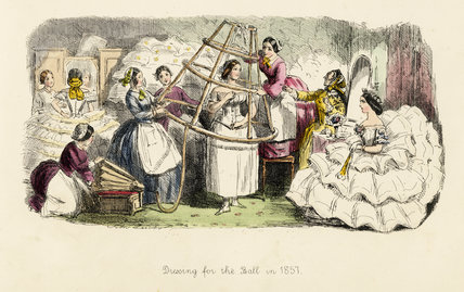 Dressing for the Ball in 1857