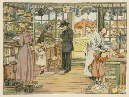 Village Store from E. V. Lucas's, 'The Book of Shops', London: Grant Richards, [1904]