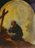 Friar in Prayer