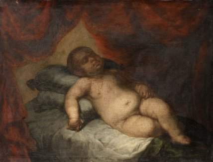 Infant Christ Asleep