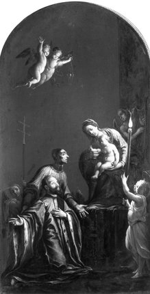 The Madonna with St. Lorenzo Giustiniani and a Venetian Nobleman