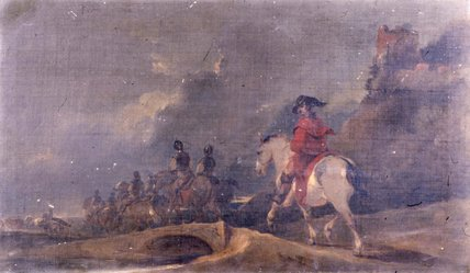 Cavalry in a Landscape