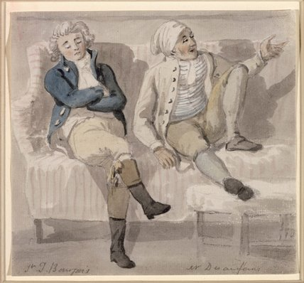 Noel Desenfans and Sir Francis Bourgeois