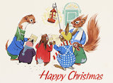 Happy Christmas Tufty