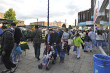Lewisham High Street and market; 2009