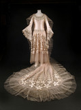 Wedding dress ensemble by Norman Hartnell; 1928
