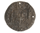 Cloth Seal of the Company of Royal Adventurers of England to Africa: c.1670