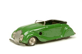 A green toy car, post 1945