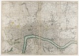 A plan of London with all the new streets; 1766